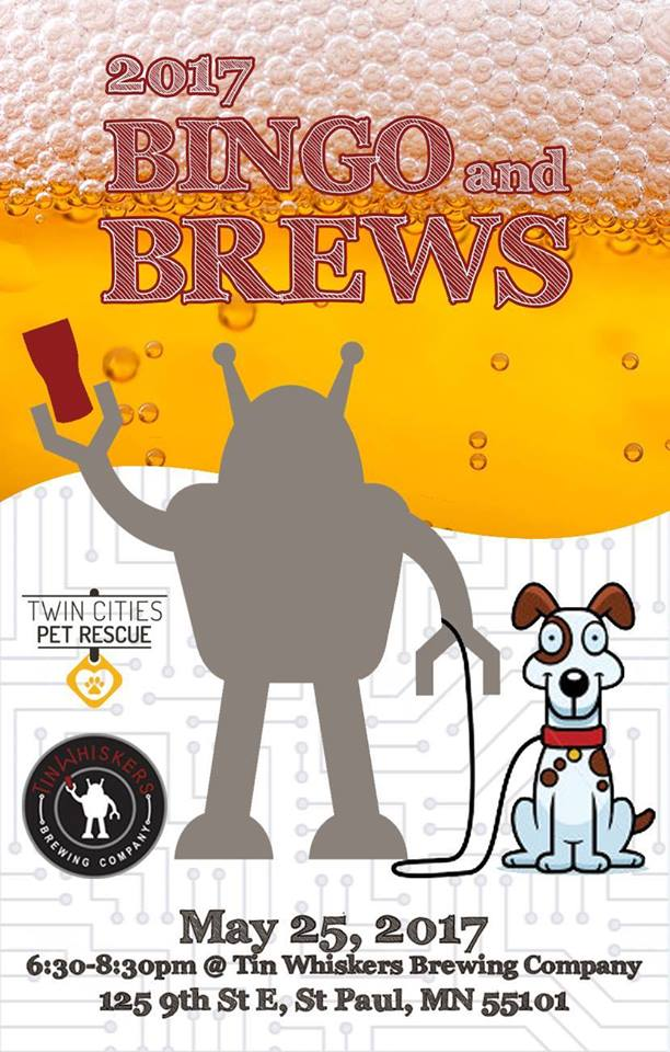 Bingo and Brews Flyer May 25th