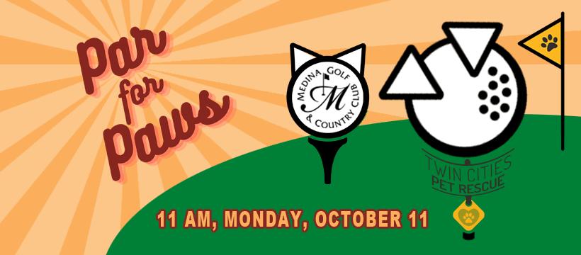 Par for Paws - 11 AM, Monday, October 11